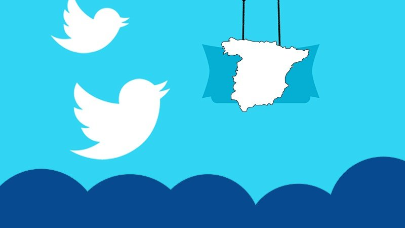 Mapa España Twitter