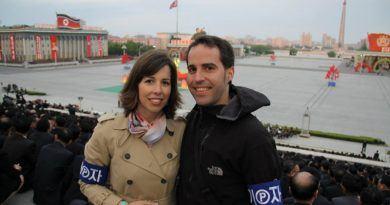 Sara Romero Antena 3 Corea del Norte