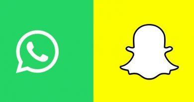WhatsApp Snapchat