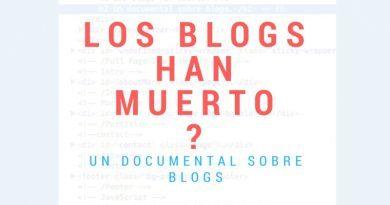 Los blogs han muerto