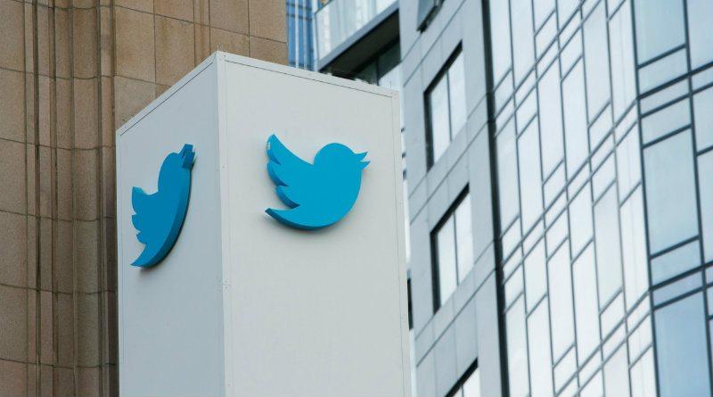 Twitter Logo Edificio