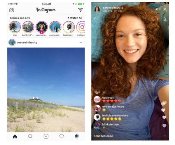 Ya se pueden compartir y ver más tarde los directos de Instagram