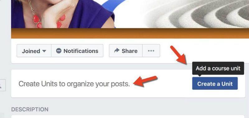 foto facebook cursos