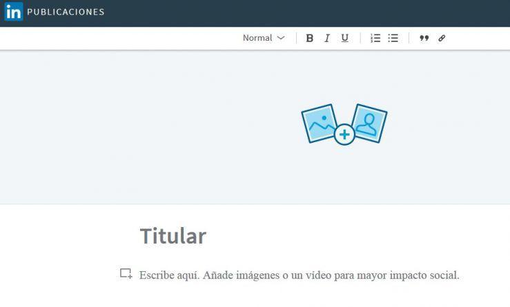 LinkedIn lanza su plataforma para escribir blogs en español