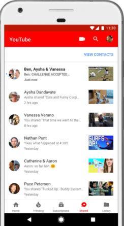 YouTube permite crear chats privados para comentar los vídeos