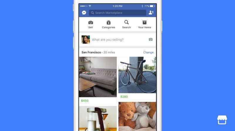 Facebook lanza Marketplace en España, ¡tiembla Wallapop!