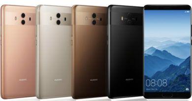 Llega el Huawei Mate 10 para competir con el iPhone 8 y el Samsung Galaxy S8
