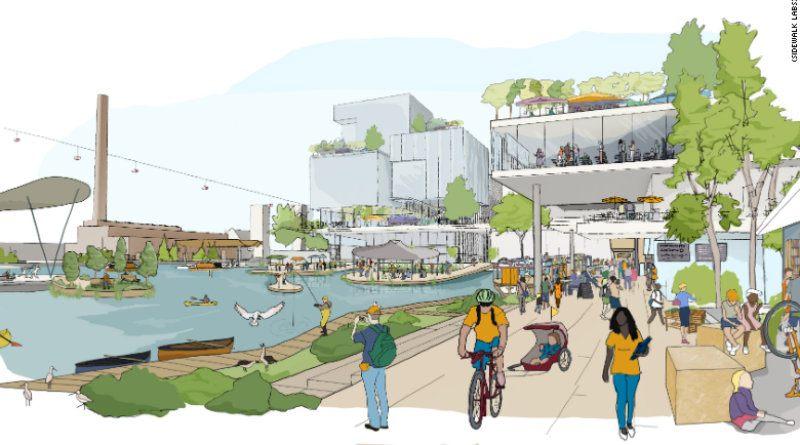 Así será el nuevo barrio 2.0 que Google va a crear en Toronto