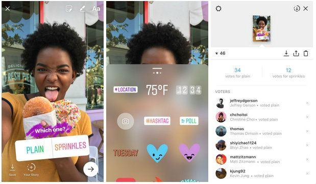 Instagram ahora permite hacer encuestas en las Stories