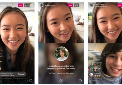 Instagram permite a cualquiera incorporarse a la emisión en directo de otro usuario