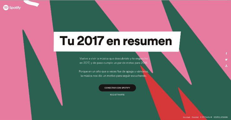 Cómo se puede visualizar tu resumen de este año en Spotify