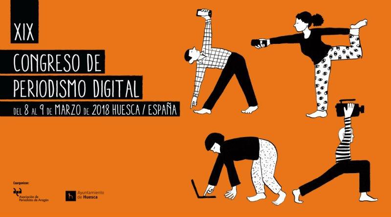 8 y 9 de marzo: Congreso de Periodismo Digital de Huesca