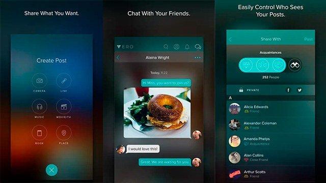 Vero app social