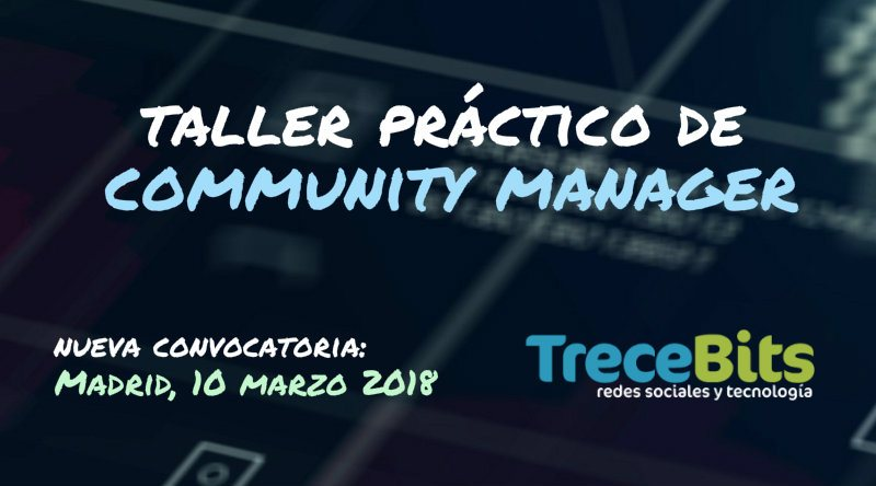 Taller Community Manager