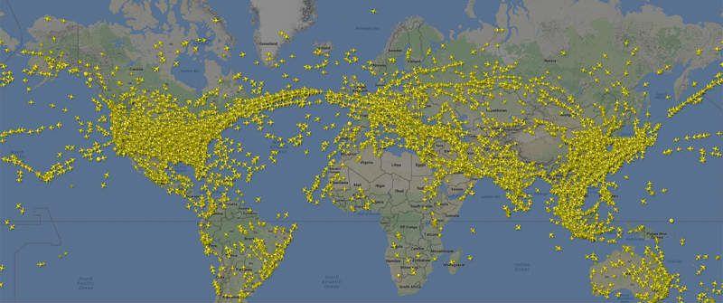 Flightradar24-vuelos