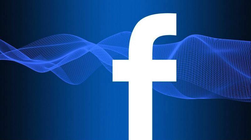 Facebook logo ondas
