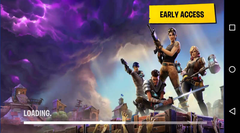 Fortnite mobile fake