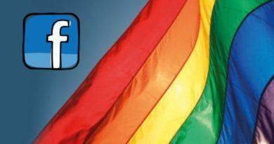 bandera arcoiris Facebook