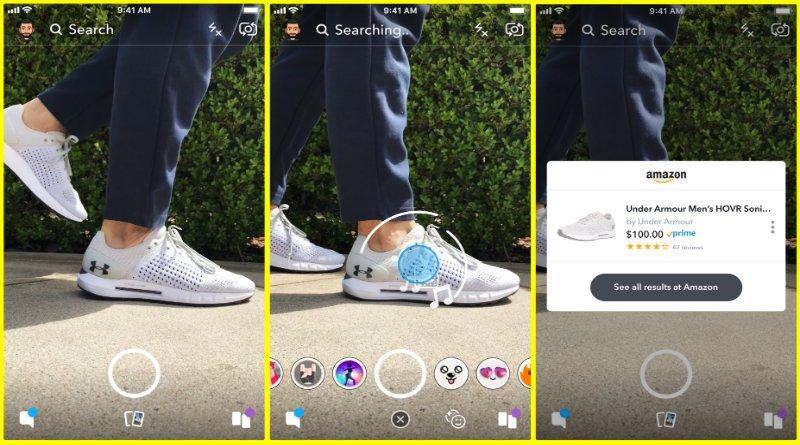 Amazon-Snapchat