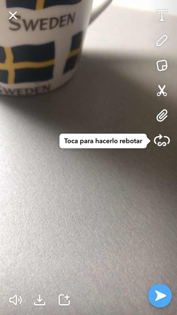 Snapchat rebote