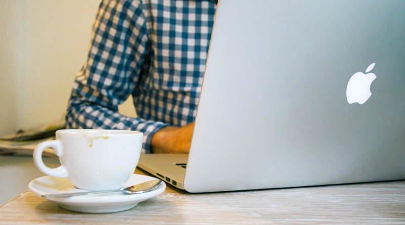 Mac Bienestar digital Ordenador Cafe