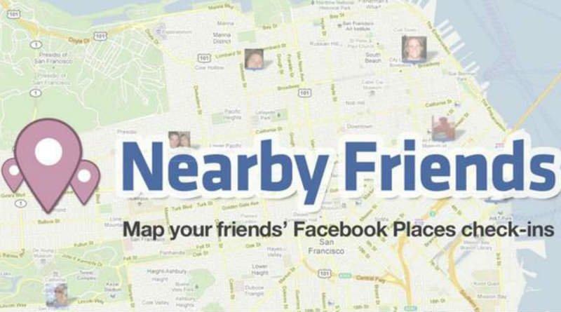 Mapa de amigos FB