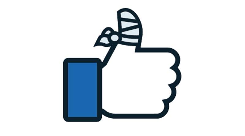 Página eliminada de Facebook