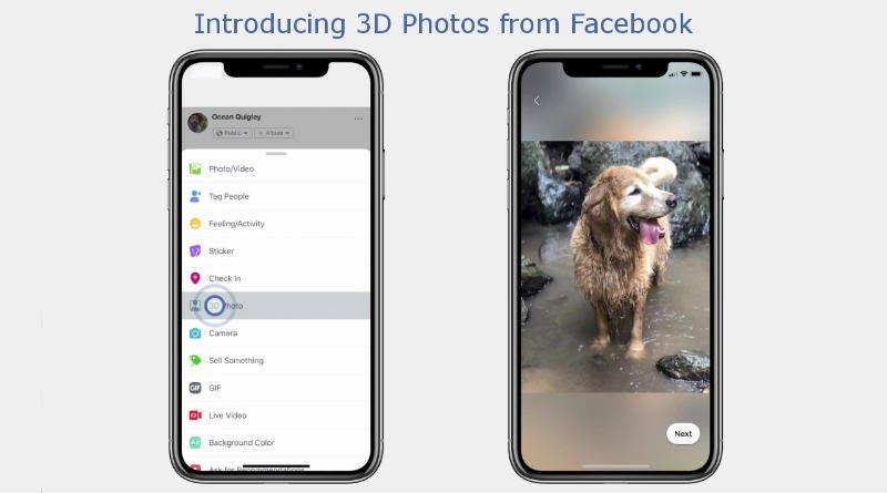 facebook 3D picture