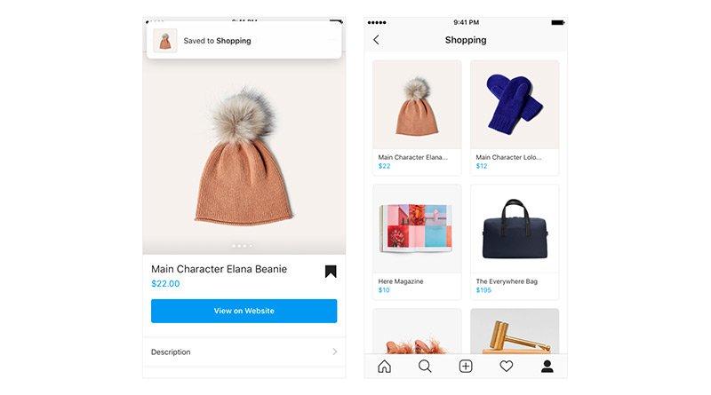 Colecciones compra Instagram