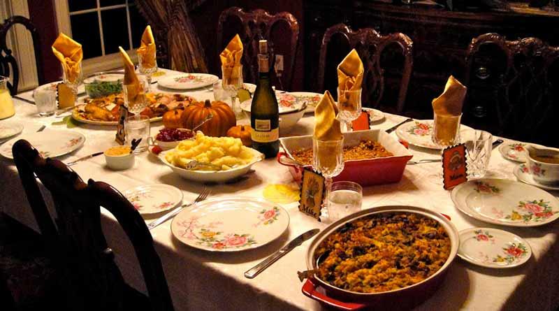 Cena Día de Acción de Gracias