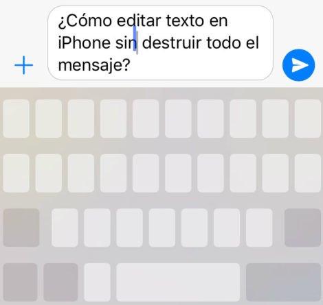 Editar Texto iPhone