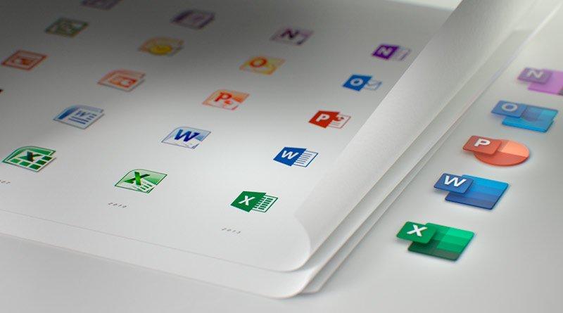Cambios iconos Office 365