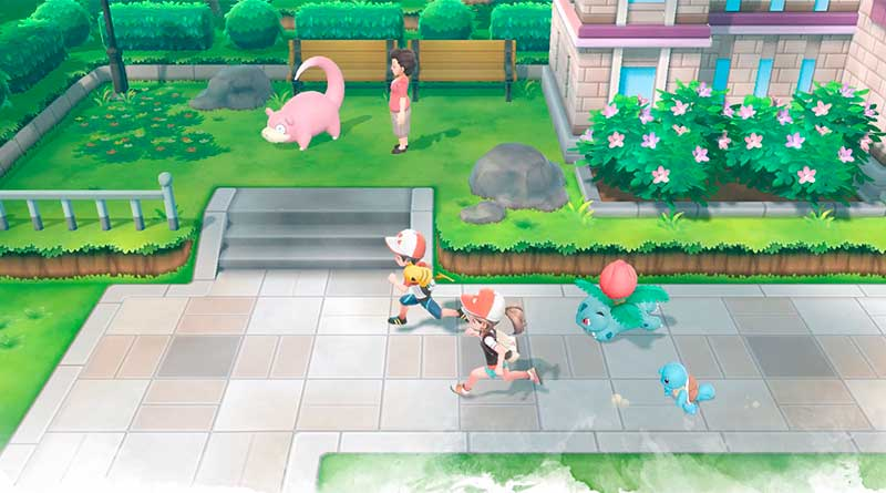 Apariencia Pokemon Lets Go