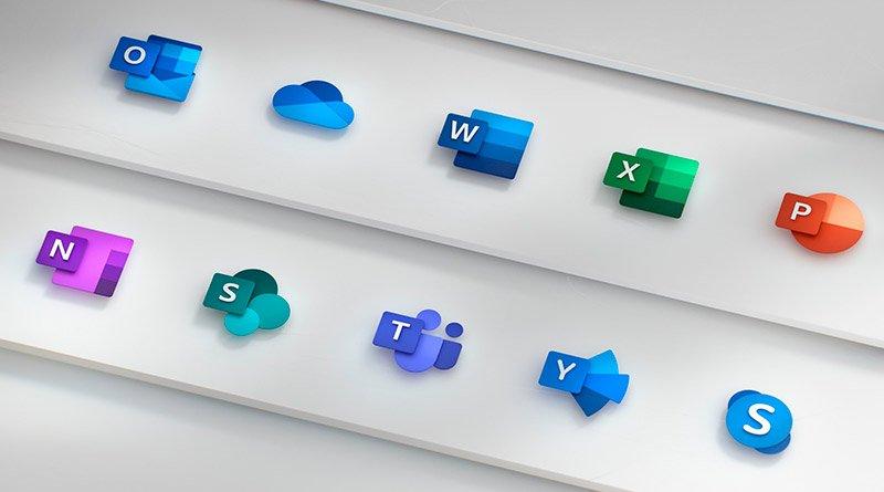 Todos los nuevos iconos de Office 365