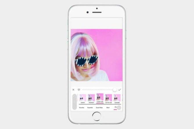 A color story Selfie App