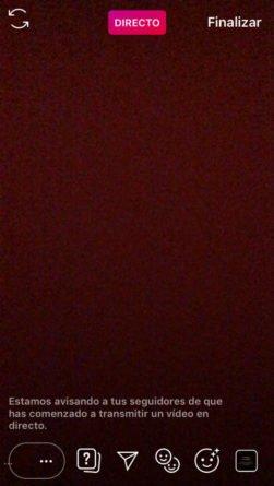 Vídeo Directo Instagram 2