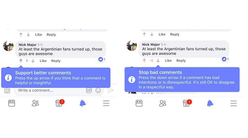 Buenos comentarios Facebook