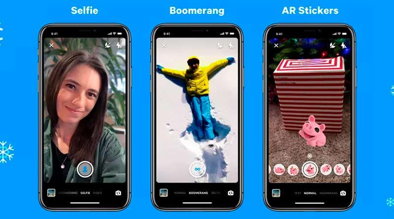 Facebook Messenger funcionalidades cámara