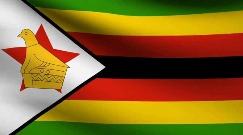 Zimbabwe bandera