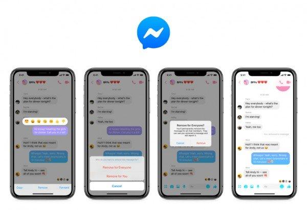 Borrar Mensajes Messenger