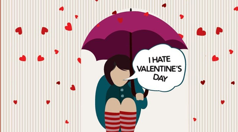 Odiar San Valentín