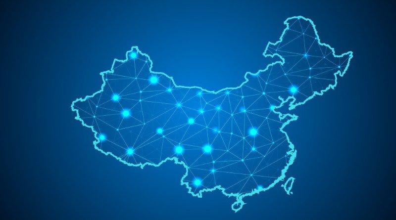 china mapa red