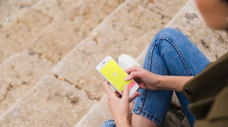 Snapchat en movil