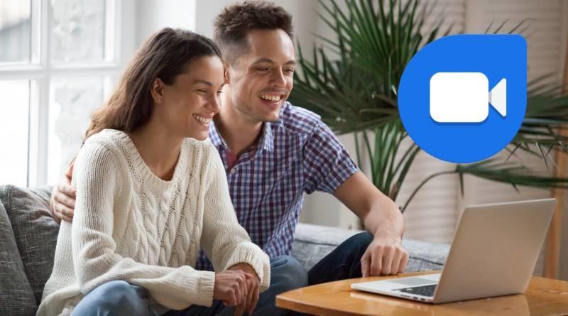 Logo de Google Duo y Pareja