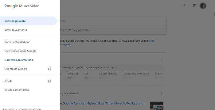 Pantallazo Google Assistant