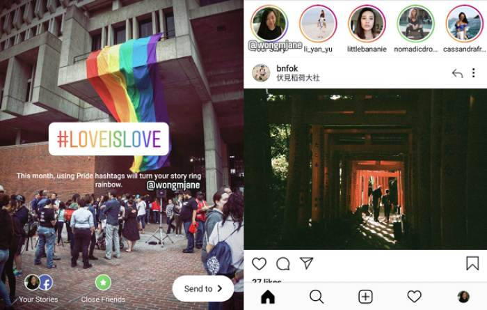 Stories Multicolor Instagram