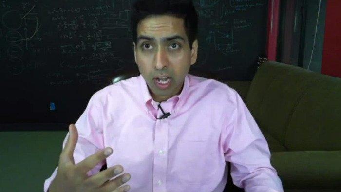 El matemático Sal Khan