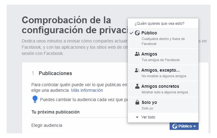 facebook-configuracion