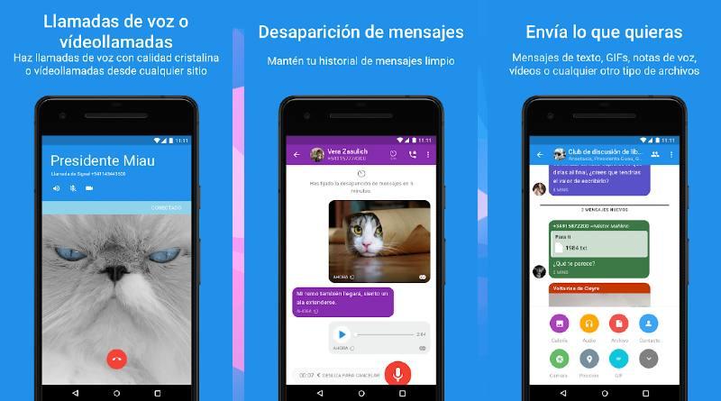 Signal la app más segura del mundo