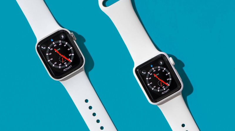 Apple Watch azul